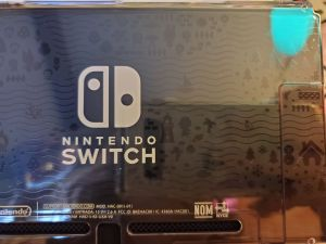 Animal Crossing Switch Console console design