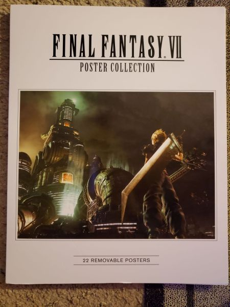 Final Fantasy VII Poster Collection Front Cover