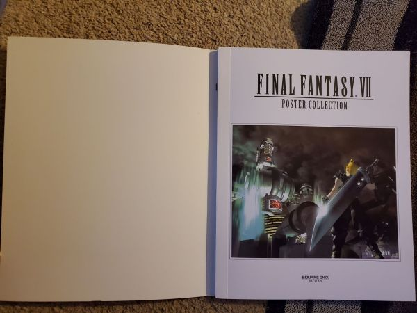 Final Fantasy VII Poster Collection Binding