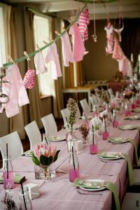 Decoration Baby Shower Fille - Maison Design - Apsip.com