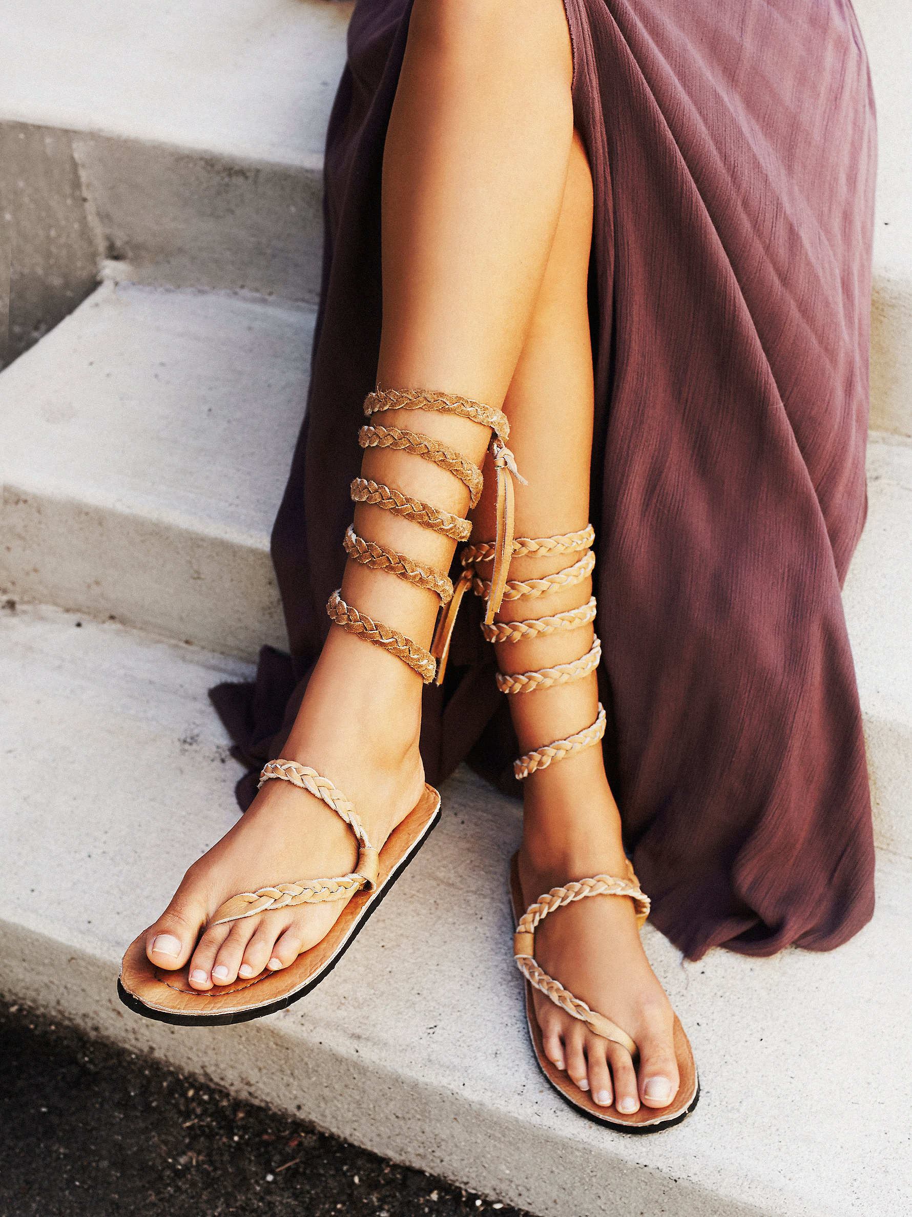 Free People' Sexy Strappy Sandals - Style And Cheek