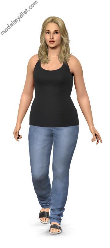 Weight Gain Simulator : weight, simulator, Create, Virtual, Weight, Model, WeightLossLook