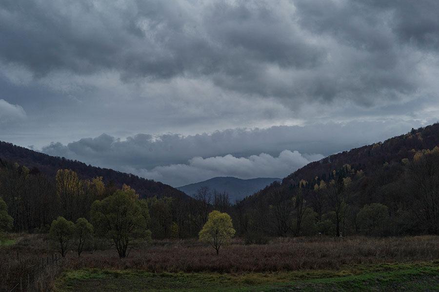 Deszcz, jesienny deszcz