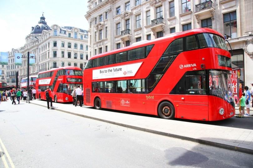 伦敦公共汽车。(TfL )