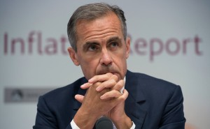 LONDON, ENGLAND - AUGUST 6:  Governor of the Bank of England Mark Carney looks on during the quarterly inflation report press conference at the Bank of England on August 6, 2015 in London, England. Members of the Bank's Monetary Policy Committee (MPC) voted 8-1 to leave interest rates on hold this month at 0.5%, where they have remained for more than six years.  (Photo by Anthony Devlin - WPA Pool/Getty Images)