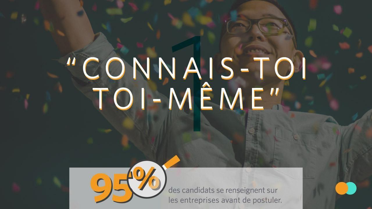Connais toi toi meme est le premier des 10 commandements de la marque employeur