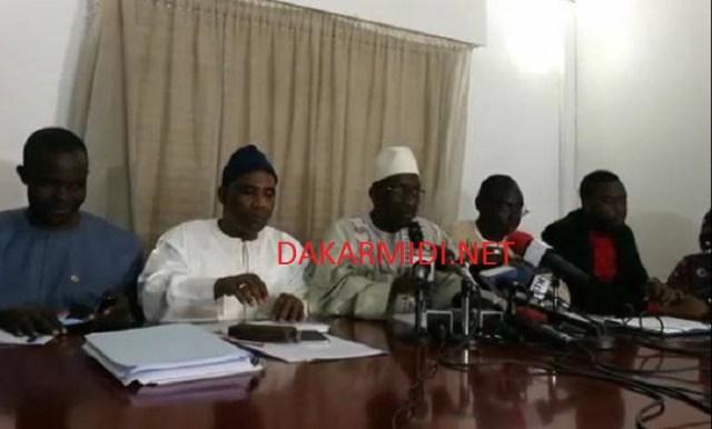 Législatives 2017 : «Manko Wattu Senegal» signale l'enrollement de gambiens et mauritaniens dans le fichier