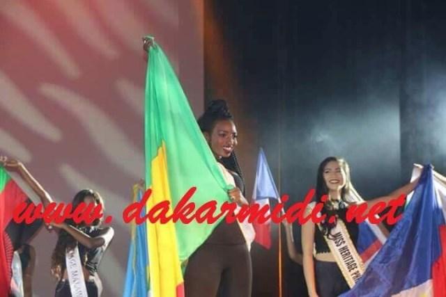 6ème dans le top 15 du 3 eme plus grand concours au monde, Naar Codou Diouf a dignement représenté le Sénégal à «Miss héritage globale (Images)