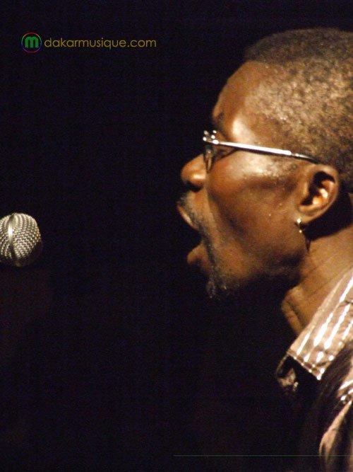 Souleymane Faye avec Le Groupe Xalam 2