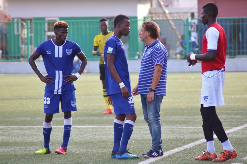 Moussa Sané, Pape Meissa Ba, Bruno Rohart de Dakar SAcré-Coeur