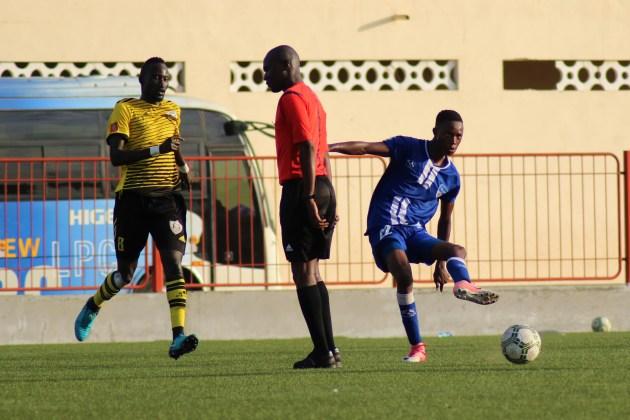 Boubacar Thiam milieu de terrain de Dakar Sacré-Coeur
