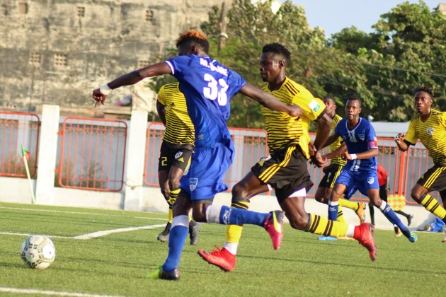 Moussa Sané attaquant de Dakar SAcré-Coeur