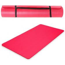 tapis de sport yoga epais a plateau
