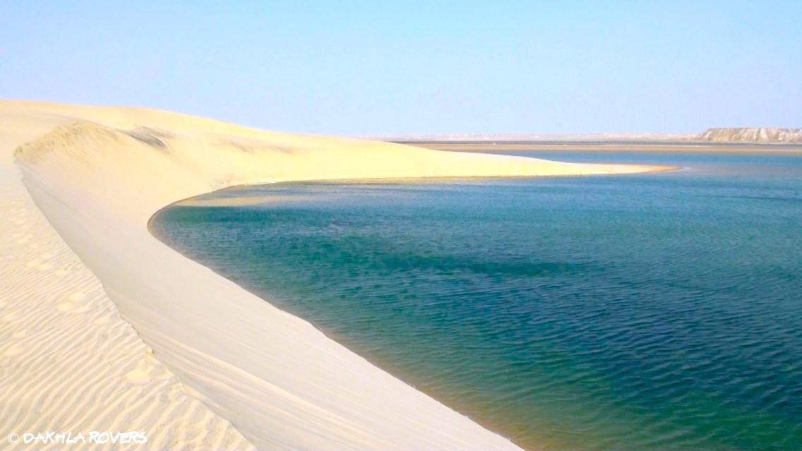 #DakhlaRovers #desert #sea #WhiteDune discover Dakhla