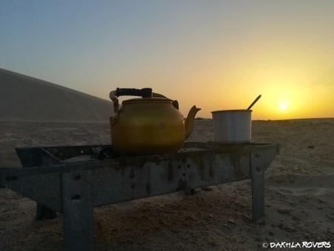Dakhla Rovers, breakfast