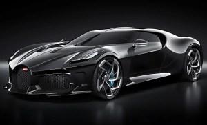 Dünyanın En Pahalı Otomobili Bugatti La Voiture Noire