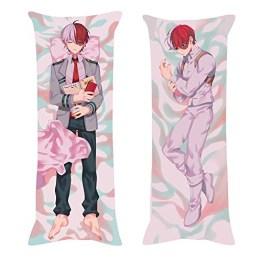 ALTcompluser My Hero Academia Todoroki Shoto Umarmungskissen Dakimakura Kissenbezug 150x50cm, Figuren Dekokissen Sofa Dekoration Wohnkultur(Microfaser) - 1