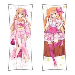Himouto! Umaru-chan Seitenkissen Bezug, Dakimakura Kissenbezug 150x50cm Bezug, Motiv: Umaru Kimono
