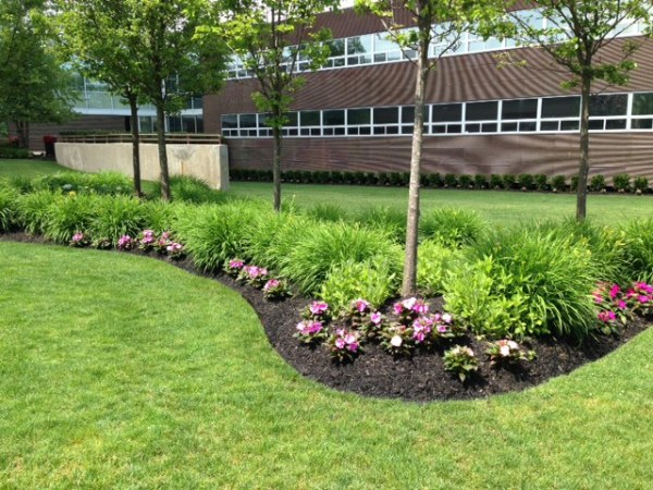 five commercial landscape ideas