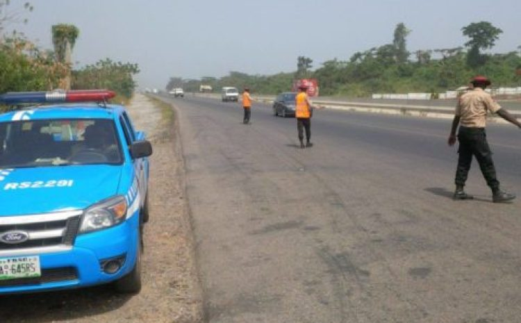 Fatal accident: Bus 'somersaulted' several times killing a pregnant woman in Ibadan