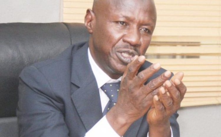 EFCC chairman, Ibrahim Magu has reportedly been arrested
