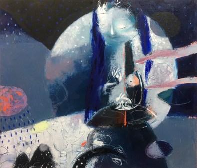 Buddha Of The Moon - Soyolmaa Davaakhuu ~ Dakini As Art
