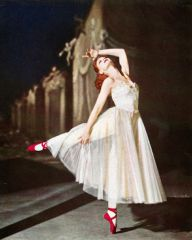 British ballerina Moira Shearer in The Red Shoes (1948).