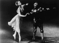 Suzanne Farrell (in Don Quixote with George Balanchine, mid-60s)