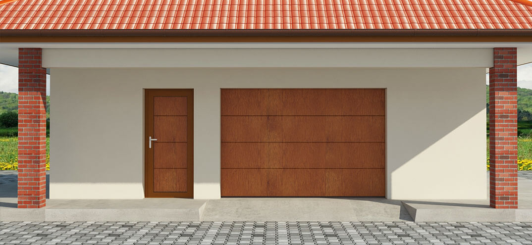 En Dako Side Garage Doors