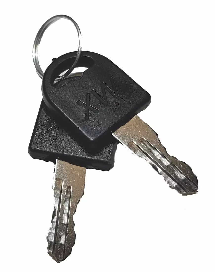 Replacement Keys for Frame door kennels