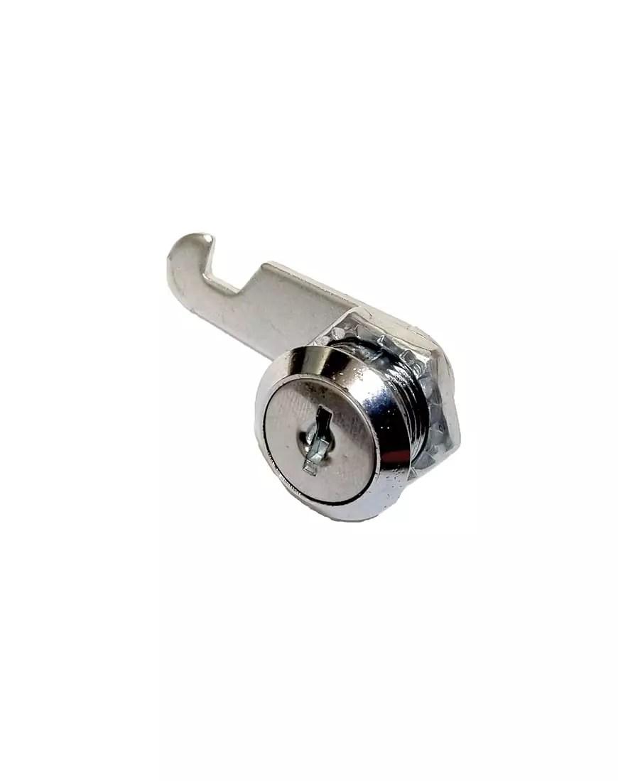 Replacement lock for framedoor kennels