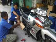 Progress Packing Sepeda Motor