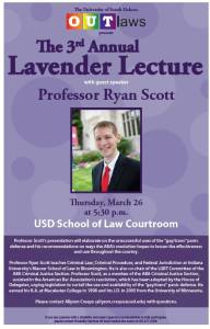 Lavender Lecture 2015