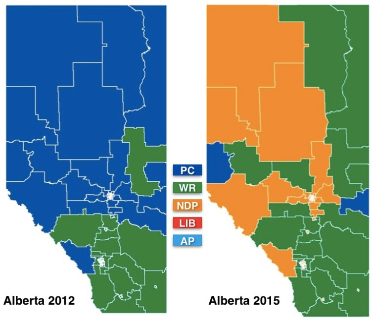 Alberta Party Shift 2012-2015