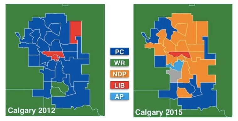 Calgary Party Shift 2012-2015