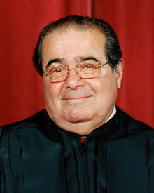 Justice Antonin Scalia, on a less grouchy day