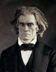 John C. Calhoun, racist states' rights secessionist... not a very pleasant fellow after whom to name a lake.