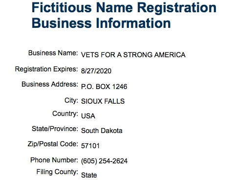 Screen cap, SD fictitious business name registry, 2015.09.19.