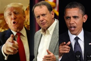 Donald Trump, Gordon Howie, Barack Obama