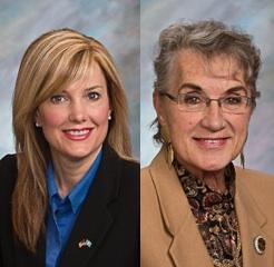 Rep. Lynne DiSanto and Senator Betty Olson