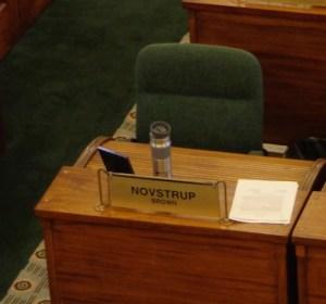 David Novstrup's chair, SD Senate