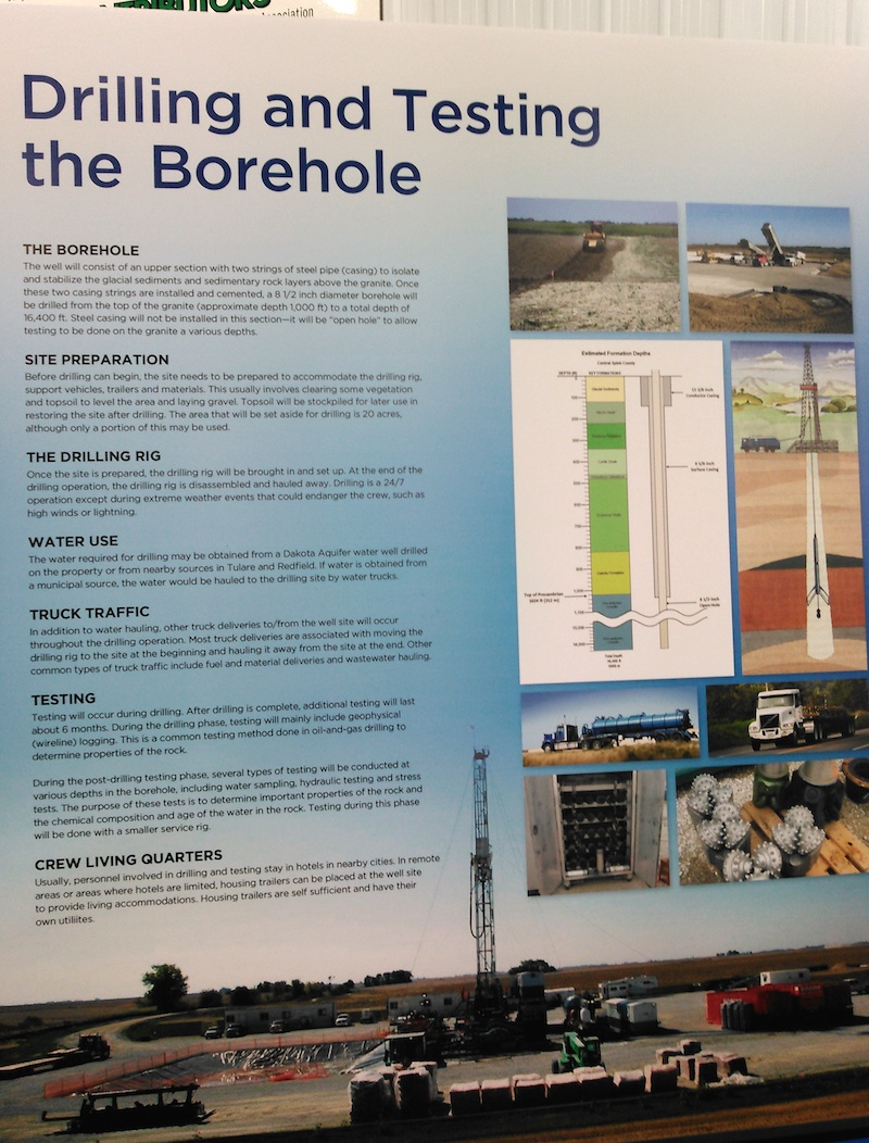 South dakota spink county doland - Details On Drilling And Testing Of Borehole Project