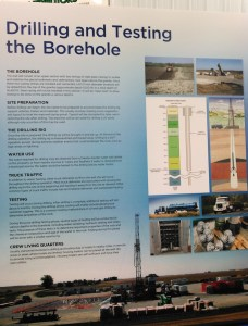 Details on drilling and testing of Borehole project