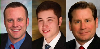 District 3 GOP HOuse candidates Dan Kaiser, Drew Dennert, and Todd Kolden