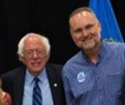 Presidential candidate Bernie Sanders and Legislative candidate Reynold Nesiba, FB photo, Sioux Falls, SD, 2016.05.12