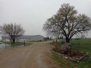 Scott Westerhuis property, April 2016.
