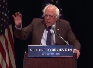 Bernie Sanders—never give up, never surrender!
