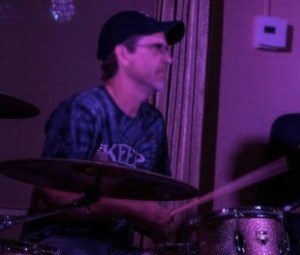 Brooks Briscoe on drums