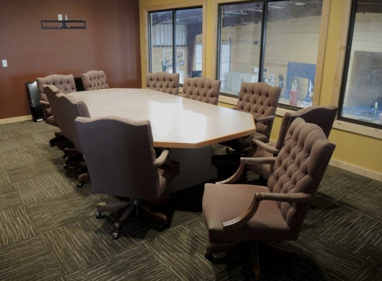 Westerhuis gym conference room. Photo by Wieman Land & Auction.