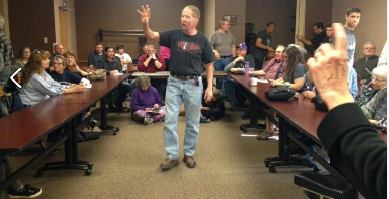 Pennington County Democrats meeting, Rapid City, SD, 2016.11.13. Photo by Pennington County Democrats.